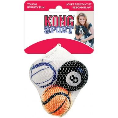 שלישיית כדורים לכלב קונג ספורט מידה S