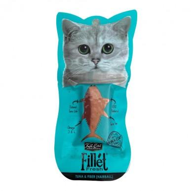 Kit Kat - מעדן לחתול דג טונה וסיבים (מסייע בהאטת היווצרות כדורי פרווה)