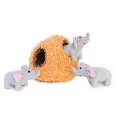 משחק בד לכלבים - מערת פילים