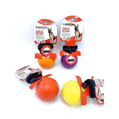 "כדור דנטלי עם חבל למשחק משיכות - 5 ס""מ"