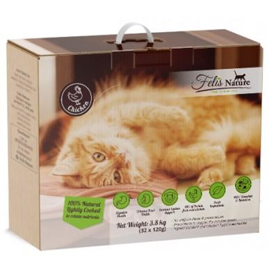 """פליס נייצ'ר - מזון טבעי לחתולים 3.8 ק""""ג"""