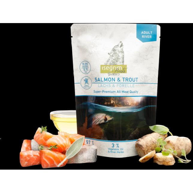 Isegrim Roots -  עוף, דג סלמון ופורל 410 גרם