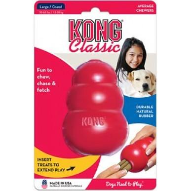 קונג לכלבים -  קלאסיק קונג מידה L