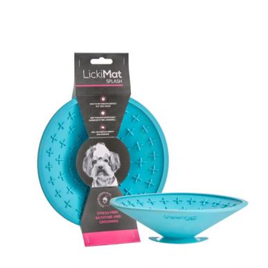 licki mat SPLASH - משטח ליקוק עם ואקום לשימוש במקלחת/סירוק הכלב