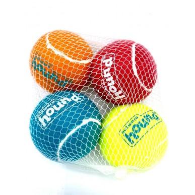 כדורי טניס צבעוניים איכותיים - 4 יחידות M