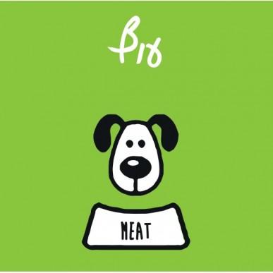 """מיט מזון טבעי לכלבים - עוף ללא ירקות 1 ק""""ג"""