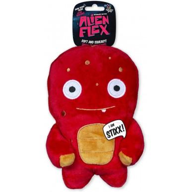 ספאנקי פאפ - בובת חייזר אדומה עם תפרים מחוזקים