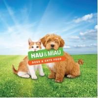 מזון טבעי לכלבים וחתולים של חברת האו ומיאו